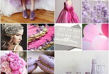 Colour scheme: Pink + Lilac
