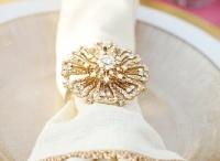Gold Weddings / Shimmering inspiration for a Gold Wedding palette.
