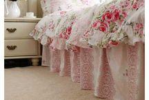 linge de lit romantique