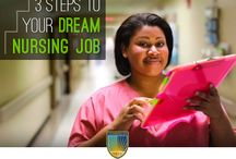 Career Advice / Providing advice for future and practicing nursing in their career search. / by Chamberlain College of Nursing