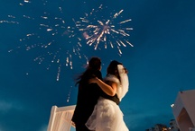 Fireworks Weddings & Events in Santorini