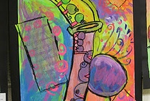 kunst Musikinstrumente