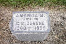 Ancestor Headstones and Memorials