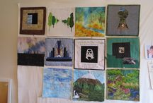 "Taranaki 12 x 12 quilts -group 2 / Two years journey making 12"" x 12"" quilts and any subsequent quilts we make."