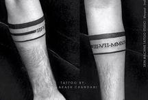 arm band tattoos