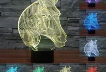Horse LED Lamp 3D for Horse Lover