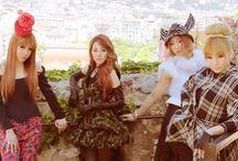 2NE1 is CRUSH <3
