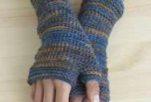 Crochet Gloves & Mittens / Mittens, gloves, fingerless / by Sherry Conrad