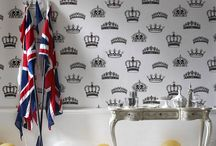 London's Calling / To celebrate the 2012 Summer Olympics, we bring you British inspired decor and Perfect Palette colors!