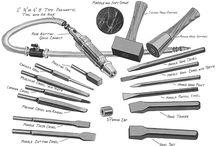 Lapidiary and Masonry tools