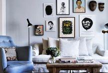 Scandinavisch wonen | Scandinavian living / Zwart, wit, grijs, minimalistisch, maar wel gezellig. Dat is Scandinavisch wonen.