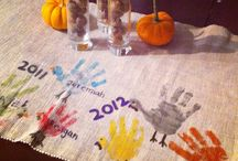 Holidays: Thanksgiving Crafts & decorating / by Hannah Carbonneau