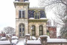 Wiktoriańskie domy ... bajka