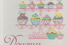 Cross Stitch Pastries/Sweets/Candies / by Velle Mere Lyons