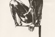 Sitting / #fredericforest #drawing #figurative #academicdrawing #art #minimal #dessin