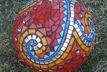 mozaika - koule