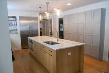 Maple Island cabinet va carrara marble