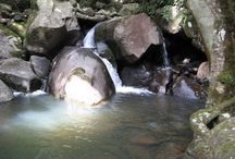 Waterfalls on hiking routes / Waterfalls on hiking routes
