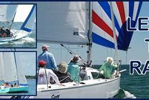 Learn to Race- Courses for sail racing. / Hands on training and lessons from beginner to expert for performance racing. Fleet boats for competitive racing.