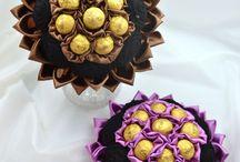 Bonbon csokrok