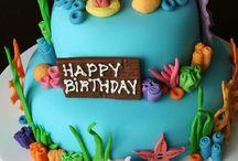 Birthday Cake Ideas / Under The Sea Theme