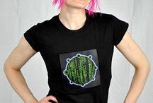 Womens LED Shirts / Womens LED Shirts, Light up shirts, Party clothing, Fun shirts
