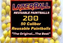 Reusable Paintballs / Reusable Paintballs are usually made of rubber, have high endurance and save paintball teams and players money because these Reusable Paintballs can be shot many times.