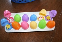Plastic eggs / by Trisha Brummels