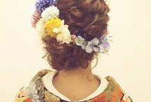 髪型 和装
