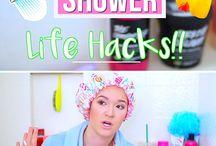 Bathroom hacks