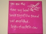 Lyric Canvases / hand-written lyric canvases by Leigh-Chantelle See all: http://leigh-chantelle.com/store.html See other song lyrics: http://leigh-chantelle.com/music-video.html Find on iTunes: http://itunes.apple.com/us/artist/leigh-chantelle/id340695831