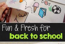 3rd Grade: Back to School