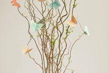 motýlci na větvi