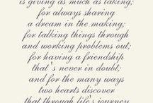 Wedding/anniversary verses