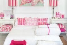 Girl's Bedroom Decor / Sometimes you just want a bedroom that is all girl. These are some of my favorites / by Laurie - CEO Customized Walls Founder Interior Design Community