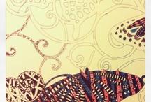 My art / Zentangles, doodling, mixedmedia, m.m.