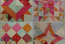 Modern Farmer's Wife Quilt blocks