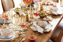 Tabletop Decor / A look at beautiful things you can use on your dining and kitchen tables for holidays and every day.