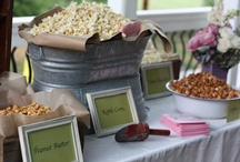 Hors Dourves and Late Night Snacks / Wedding Hors Dourves and Late Night Snack Ideas and Inspirations