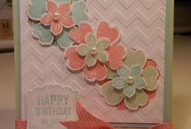 Card Ideas - SU Petite Petals / by Lisa Gundrum