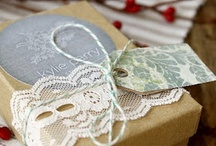 gift wrapping ideas & tags
