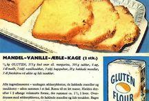 Gluten og Amo gamle opskrifter