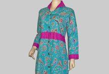 Baju Batik Wanita Dress Batik D1318