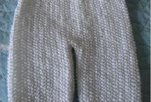Calça tricô bebe