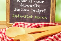 """Italian Recipe Giveaway / Flavours """"Italian recipe competition""""  Terms & Conditions http://www.flavoursholidays.co.uk/index.php?option=com_content&view=article&id=276"""