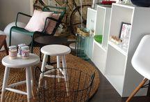 LA BOTIGA / mobiliari, complements, il.luminació, tèxtil,..