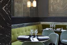 adorable restaurant interior