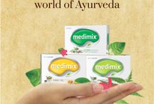 """Welcome to the world of Ayurveda"" / Medimix Ayurveda Soap"