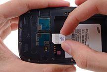 Montering av Samsung Galaxy S3 SIM-kort