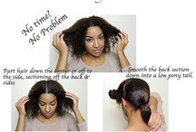 curly protective hairstyle